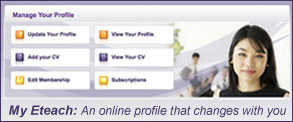 My Eteach: An online profile