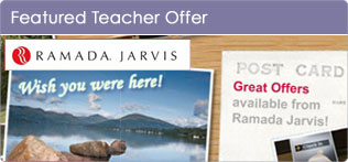 See Great Offers from Ramada Jarvis for Teachers