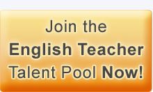 Join the english teachers talent pool