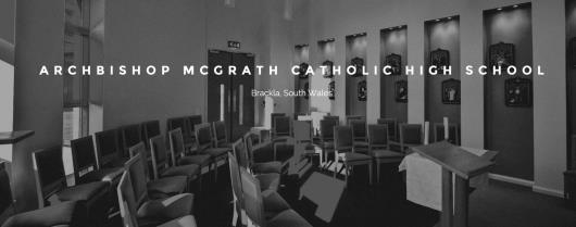 "Welcome to the Archbishop McGrath Catholic High School <span class=""darkGrey"">Career Site</span>"