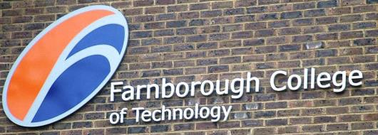 "Welcome to the Farnborough College of Technology <span class=""darkGrey"">Career Site</span>"