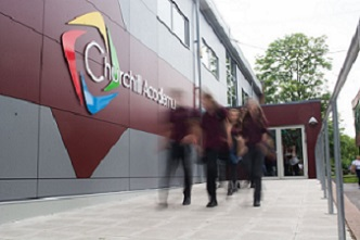 "Welcome to the Churchill Academy and Sixth Form <span class=""darkGrey"">Career Site</span>"