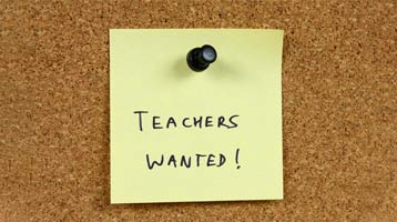 Where are we now with teacher recruitment?
